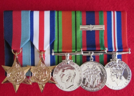 Second world war medals