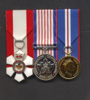 Set of 3 medals Order of Canada Golden Jubilee and 125th Ann